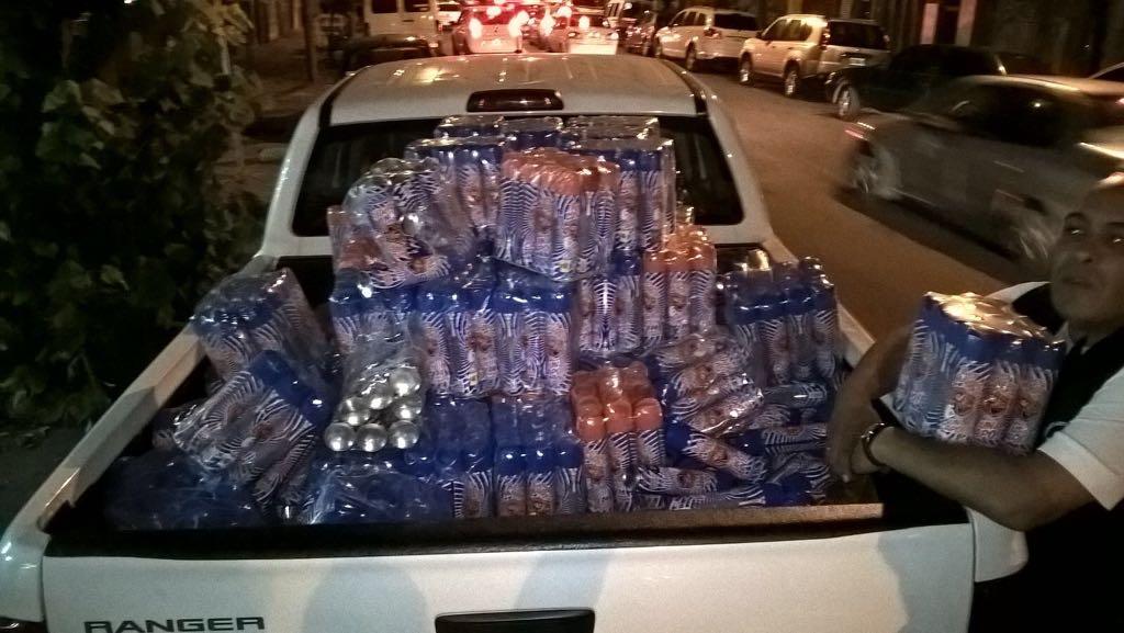 Secuestraron 650 envases de espuma en aerosol en las plazas Rocha y ...