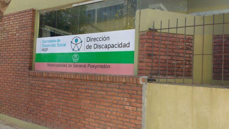 La oficina de la dirección de Discapacidad.