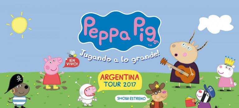 Peppa pig regresa con su nuevo show el marplatense for Espectaculo peppa pig uruguay