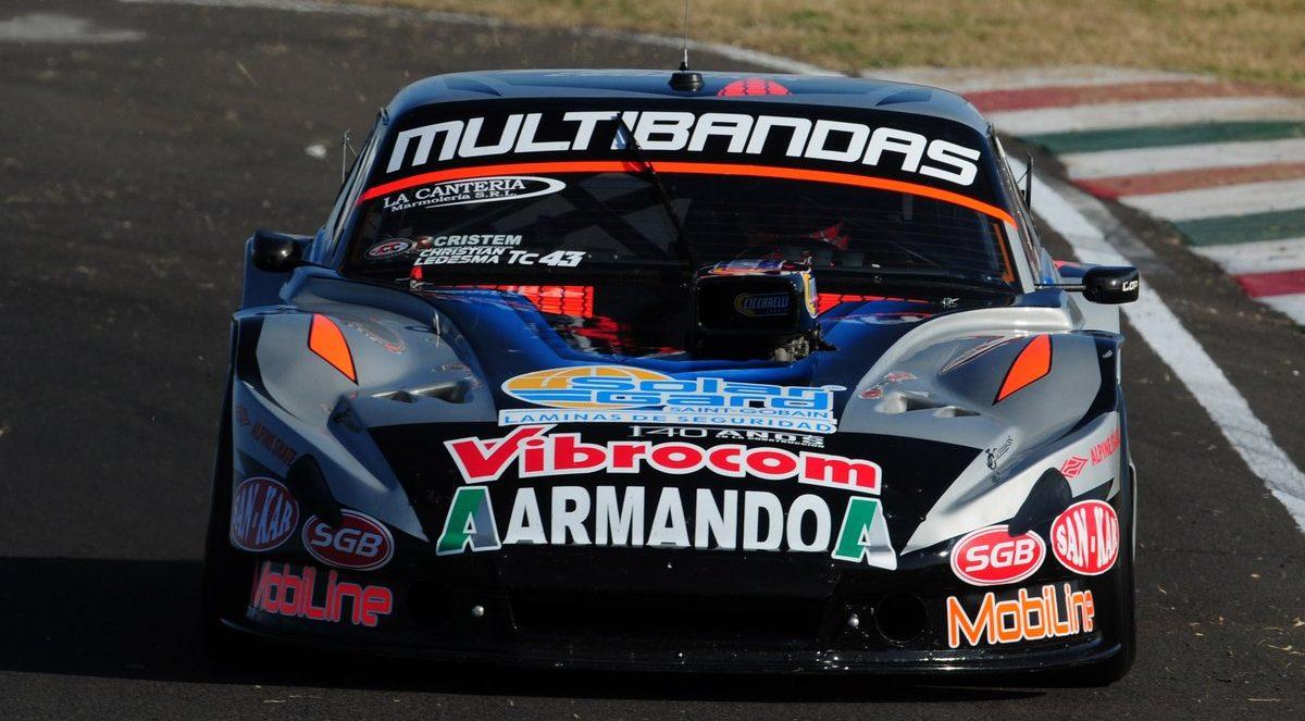 TC: Ledesma ingresó al top ten en Paraná