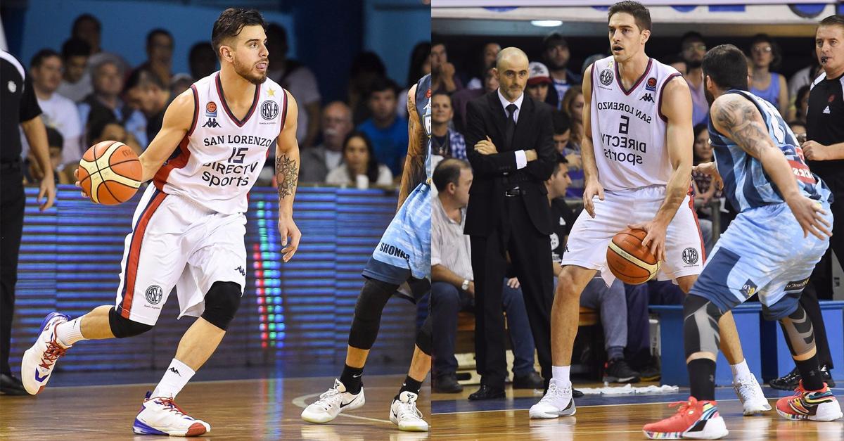 Aguirre y Deck le dieron el título a San Lorenzo