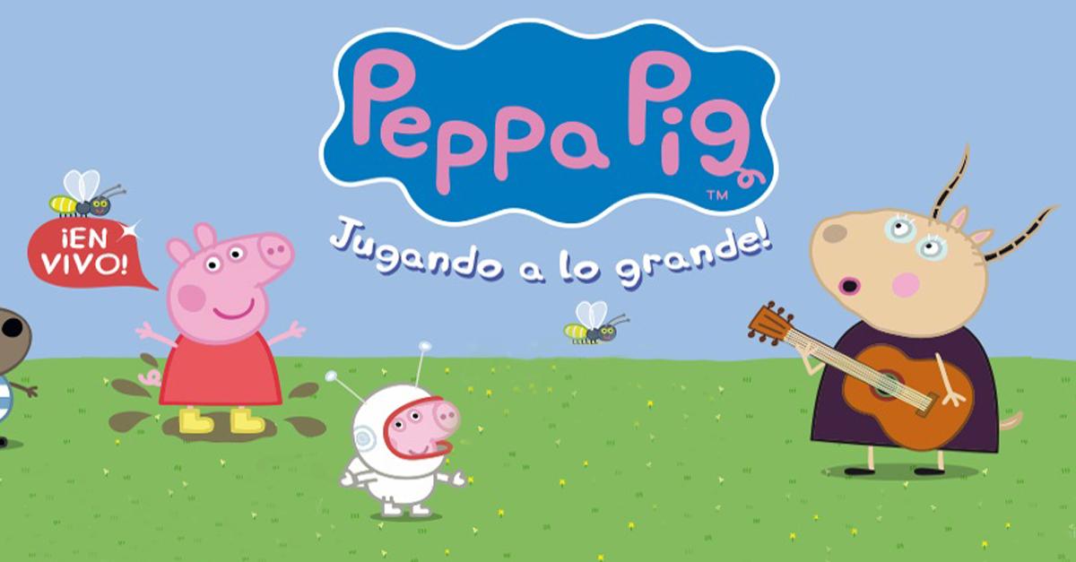 Peppa pig llega jugando a lo grande el marplatense for Espectaculo peppa pig uruguay