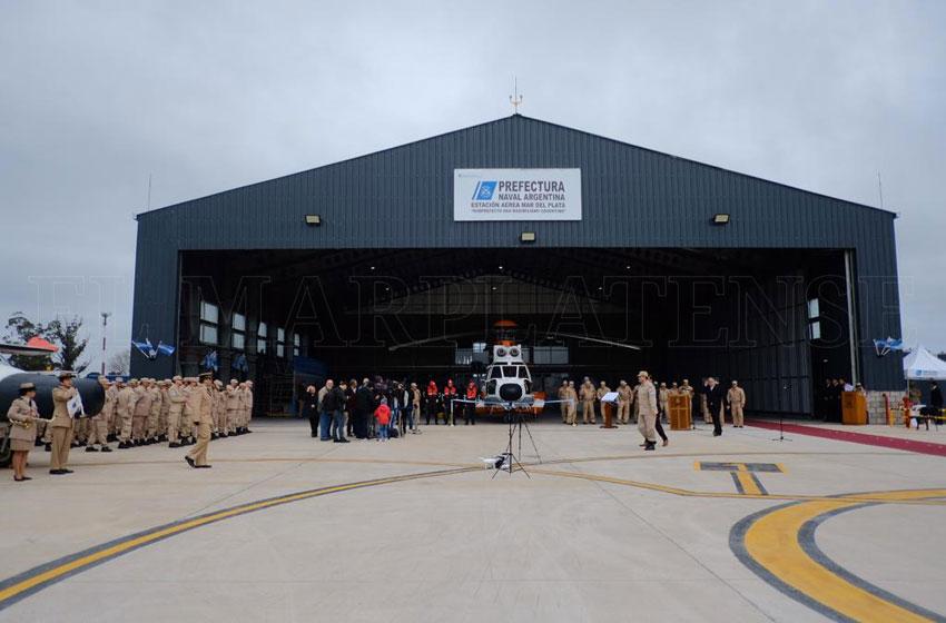 Resultado de imagen para hangar de Prefectura Naval en Mar del Plata
