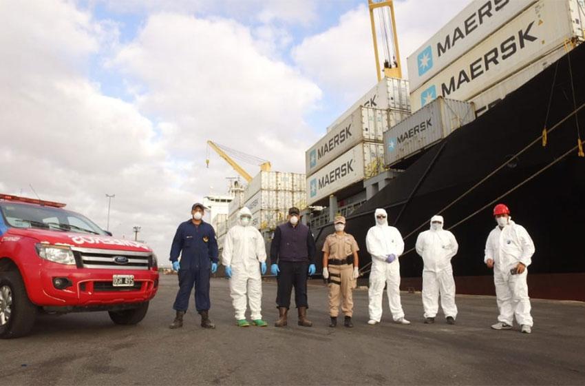 Puerto Mar del Plata: TC2 despliega protocolo especial de seguridad para garantizar operaciones de comercio exterior