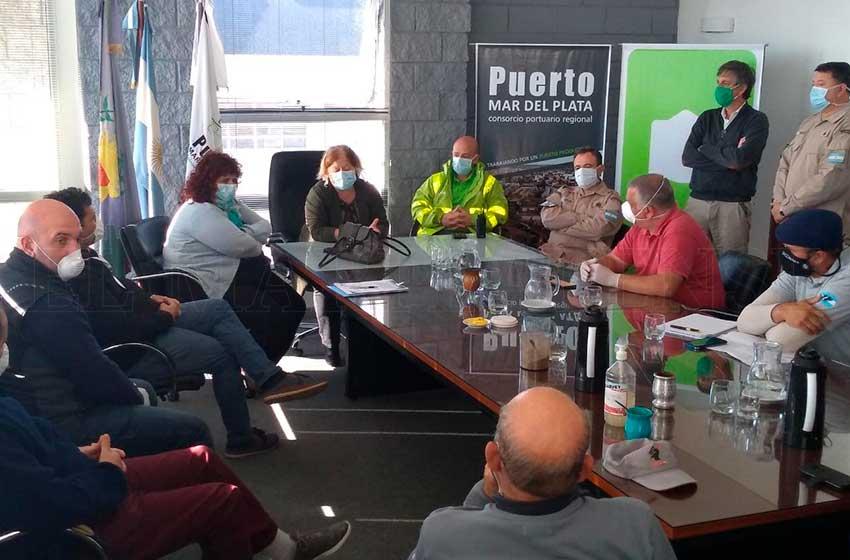 Refuerzan los controles en el puerto de Mar del Plata tras dos casos de coronavirus
