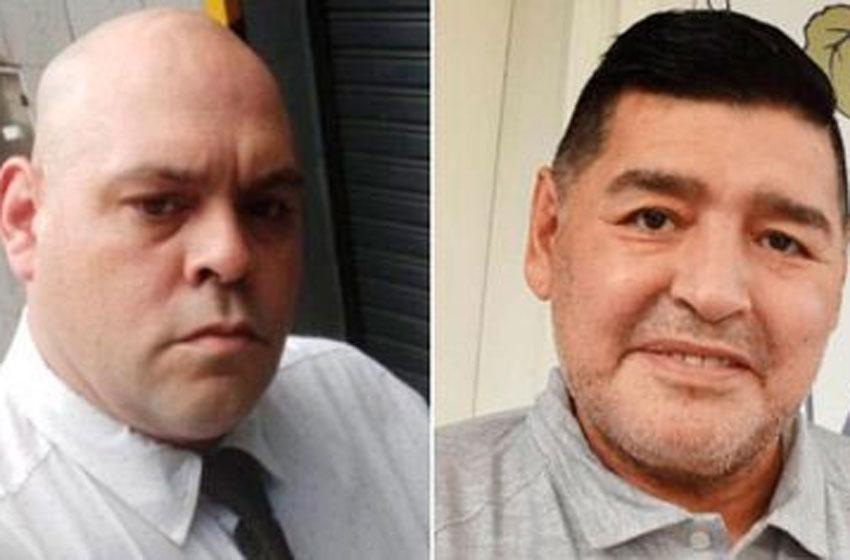 Se entregó el empleado de la funeraria que fotografió a Diego Maradona